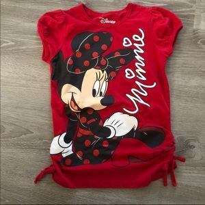 Minnie Mouse Top (youth)